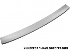 Накладка с загибом на бампер для Toyota LC Prado 120 '03-09 (Premium)