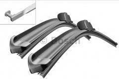 Щётки стеклоочистителя бескаркасные Bosch AeroTwin 650 и 550 мм. (к-кт) A 957 S