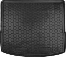 Коврик в багажник для Ford Focus 3 (III) '11- универсал, резиновый (AVTO-Gumm)