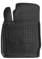 Коврик в салон водительский для Ford Ecosport '15- резиновый, черный (AVTO-Gumm)