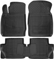 Коврики в салон для Ford Ecosport '15- резиновые, черные (AVTO-Gumm)