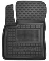 Коврик в салон водительский для Ford Courier '14- (1+1) резиновый, черный (AVTO-Gumm)