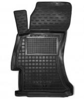 Коврик в салон водительский для Subaru XV '11-16 резиновый, черный (AVTO-Gumm)