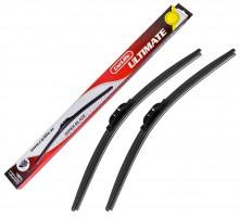 Щетки стеклоочистителя бескаркасные Carlife Ultimate 600 и 475 мм. (набор) U60+U48
