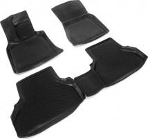 Коврики в салон для BMW X6 E71 '08- полиуретановые 3D черные (L.Locker)
