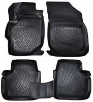 Коврики в салон для Citroen C-Elysee '13- седан полиуретановые 3D черные (L.Locker)