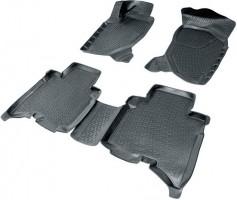 Коврики в салон 3D для Great Wall Hover H5 '10- полиуретановые, черные (L.Locker)