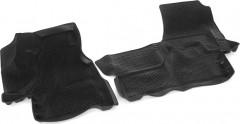 Коврики в салон 3D для Mercedes Sprinter '95-06 полиуретановые, черные (L.Locker)