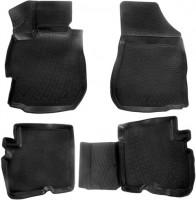 Коврики в салон для Nissan Almera '13- полиуретановые 3D черные (L.Locker)