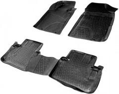 Коврики в салон для Nissan Teana '14- полиуретановые 3D черные (L.Locker)