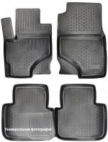 Коврики в салон для Peugeot 308 '14- хэтчбек полиуретановые 3D черные (L.Locker)