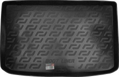 Коврик в багажник для Renault Clio '05- хетчбэк резиновый (L.Locker)