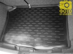 Коврик в багажник для Seat Ibiza '08- хэтчбек, полиуретановый (Aileron)