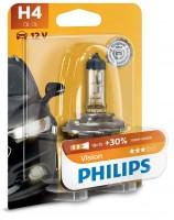Автомобильная лампочка Philips Vision H4 12V 60/55W в блистере