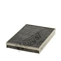 Салонный фильтр угольный Hengst e962lc