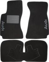 Коврики в салон для Audi A4 '95-00 текстильные, черные (Люкс)
