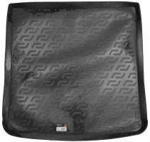 L.Locker Коврик в багажник для Audi A4 '08-11, универсал, резино/пластиковый (Lada Locker)
