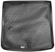 Коврик в багажник для Audi A4 '08-11, универсал, резиновый (Lada Locker)