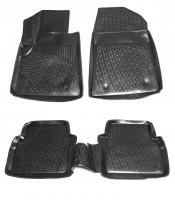 Коврики в салон для MG 550 '08- полиуретановые, черные (L.Locker)