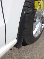 Брызговики передние для Volkswagen Polo '10-15 седан (Lada Locker)