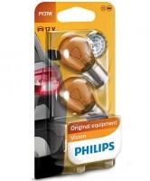 Автомобильная лампочка Philips Vision PY21W 12V 21W (комплект: 2шт)