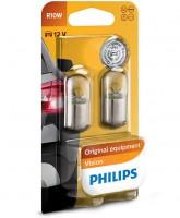 Автомобильная лампочка Philips Vision R10W 12V 10W (комплект: 2шт)