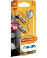 Автомобильная лампочка Philips Vision T4W 12V 4W (комплект: 2шт)