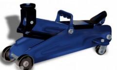 Домкрат автомобильный гидравлический подкатной 2 т. в кейсе LA FJ-01PVC (Lavita)