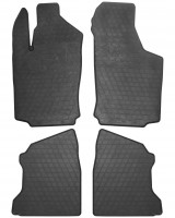 Коврики в салон для Opel Combo '01-12 резиновые (Stingray)