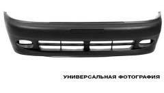 Передний бампер Daewoo Lanos / Sens '98-, черный, без шины (FPS)