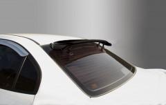 Дефлектор заднего стекла универсальный черный (Auto Clover)