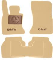 Коврики в салон для BMW 5 F07 GT  '09- текстильные, бежевые (Премиум)