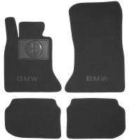 Textile-Pro Коврики в салон для BMW 5 F10/11 '10-13 текстильные, черные (Премиум)