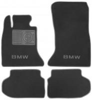 Фото товара 1 - Коврики в салон для BMW 5 F10/11 '10-13 текстильные, серые (Премиум)
