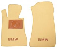 Textile-Pro Коврики в салон для BMW Z3 '95- текстильные, бежевые (Премиум)