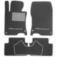 Фото товара 1 - Коврики в салон для Honda Accord 8 '08-13 EUR  текстильные, серые (Премиум)