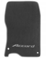 Фото товара 3 - Коврики в салон для Honda Accord 8 '08-13 EUR  текстильные, серые (Премиум)