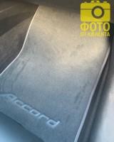 Фото товара 11 - Коврики в салон для Honda Accord 8 '08-13 EUR  текстильные, серые (Премиум)