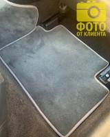 Фото товара 13 - Коврики в салон для Honda Accord 8 '08-13 EUR  текстильные, серые (Премиум)