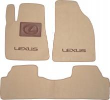 Коврики в салон для Lexus RX '12-15 текстильные, бежевые (Премиум)
