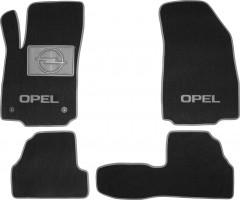 Коврики в салон для Opel Mokka '12-  текстильные, серые (Люкс)