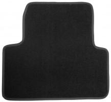 Фото 4 - Коврики в салон для Opel Zafira Tourer '12-  текстильные, черные (Люкс) 1+2+3 ряд