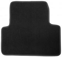 Фото 5 - Коврики в салон для Opel Zafira Tourer '12-  текстильные, черные (Люкс) 1+2+3 ряд