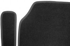Фото 8 - Коврики в салон для Opel Zafira Tourer '12-  текстильные, черные (Люкс) 1+2+3 ряд