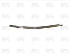 Накладка капота для Honda Accord 7 '03-05, хром (FPS)