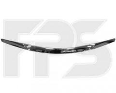 Накладка капота для Hyundai Sonata '10-15, хром (FPS)