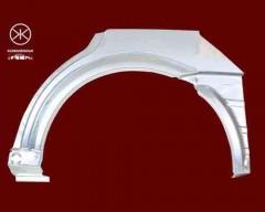 Ремонтная часть заднего крыла для Opel Astra G '98-10, хетчбек 5дв., арка, цинк, левая (KLOKKERHOLM)