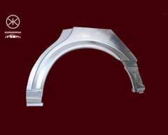 Ремонтная часть заднего крыла для Opel Astra G '98-10, универсал, арка, цинк, правая (KLOKKERHOLM)