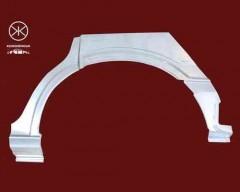 Ремонтная часть заднего крыла для Opel Zafira '99-05, арка, цинк, правая (KLOKKERHOLM)