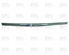 Накладка капота для Ford Mondeo '07-14, хром (FPS)